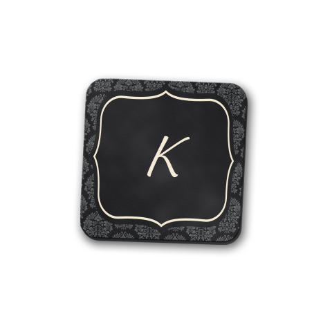 Aureate Monogram Coaster Set