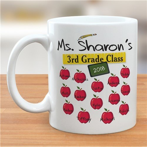 Personalized Teachers Class 11 oz. Teacher Coffee Mug
