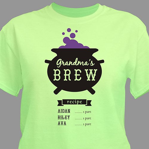 Personalized Witches Brew T-Shirt
