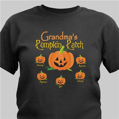 Pumpkin Family Black T-Shirt