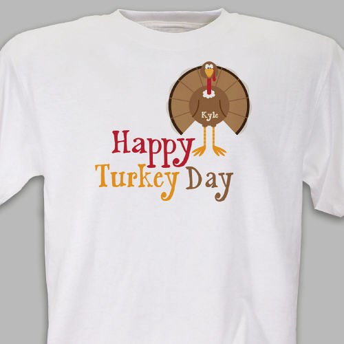 Thanksgiving T-shirt White