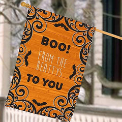 Personalized Boo to You House Flag