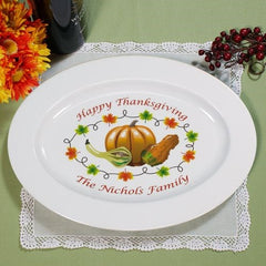 Personalized Thanksgiving Platter
