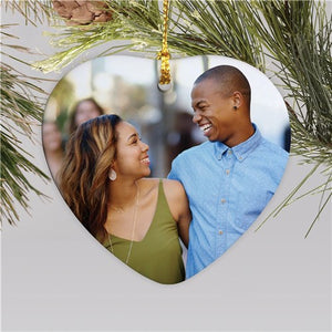 Heart-Shaped Photo Ornament