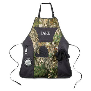 Deluxe Camouflage Grilling Apron