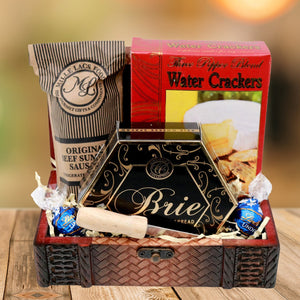 Woven Savory Gourmet Gift Basket (Small)