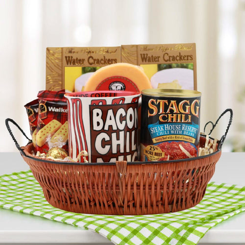 Bacon Chili Mug Gift Basket