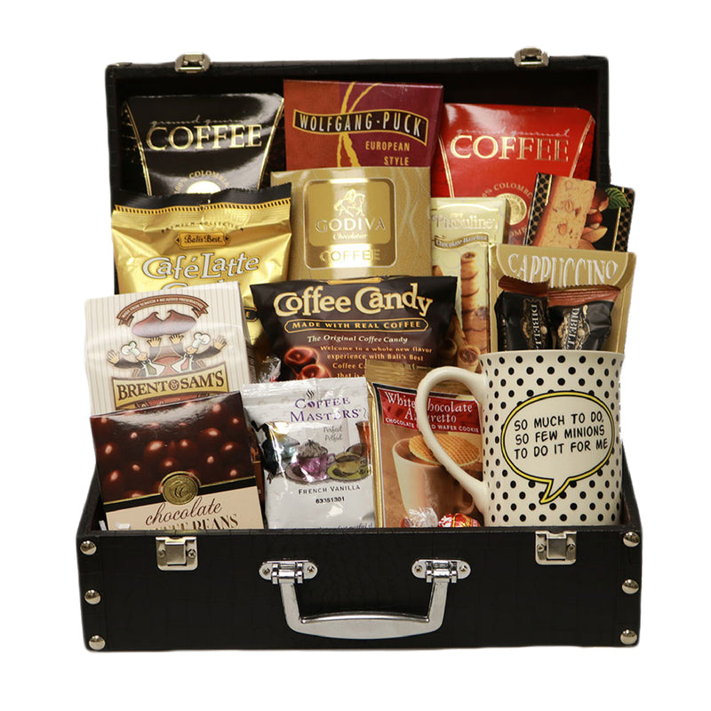 The Coffee Lovers Briefcase (Evil Genius)