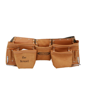 Personalized Traditional Leather Tool & Nail Apron