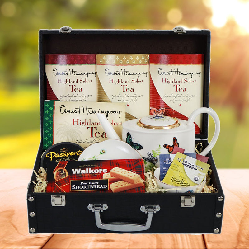 Tea Lovers' Gourmet Basket
