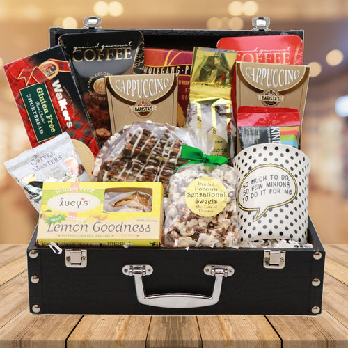 The Gluten Free Coffee Lovers' Briefcase (Evil Genius)