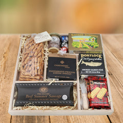 Flat Out Smoked Delights with Extras Gift Basket