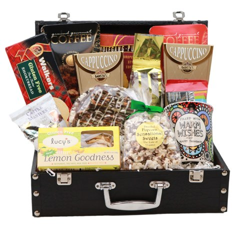 The Gluten Free Coffee Lovers' Briefcase (Warm Wishes)