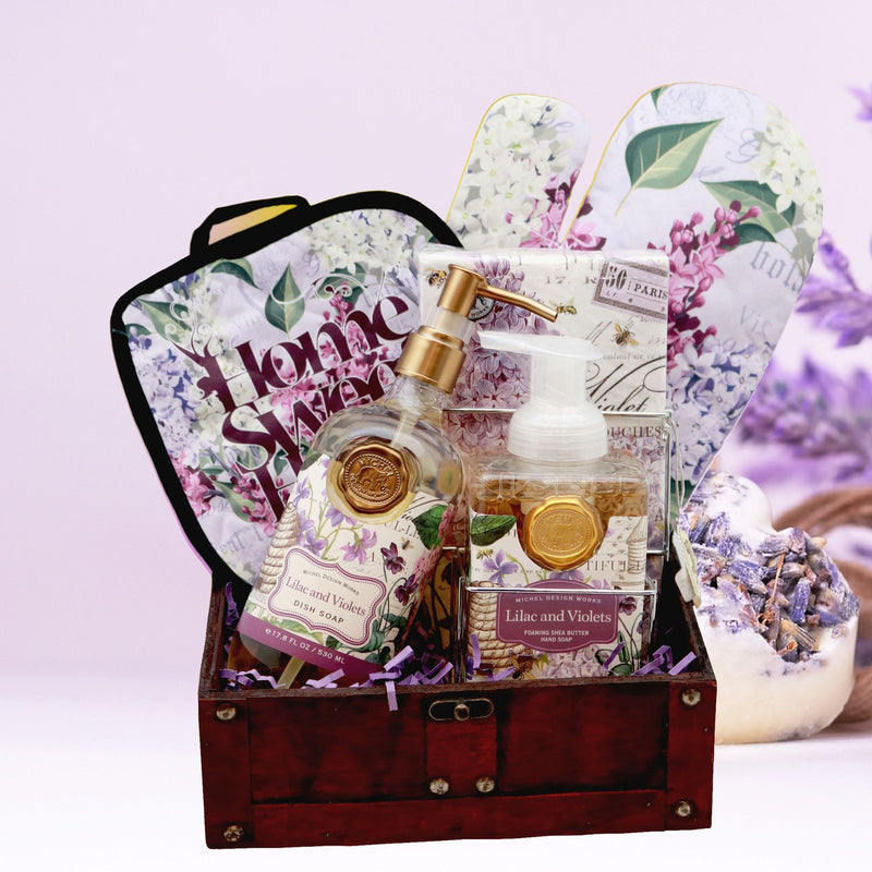 Home Sweet Home Lilac & Violet Gift Set