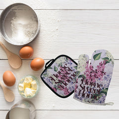 Home Sweet Home Oven Mitt & Pot Holder