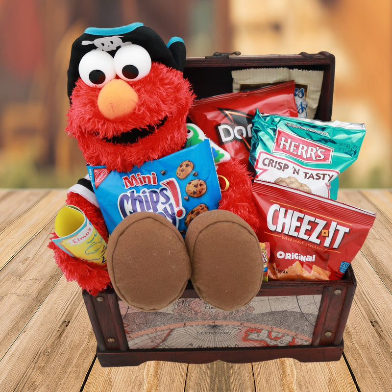 Pirate Elmo Gift Basket