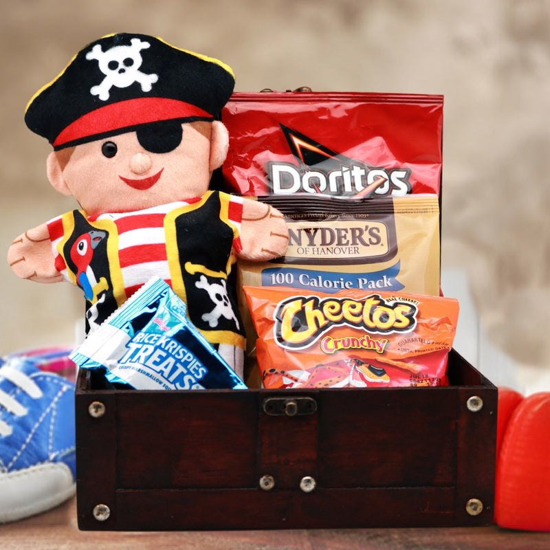 Pirate Puppet Gift Basket