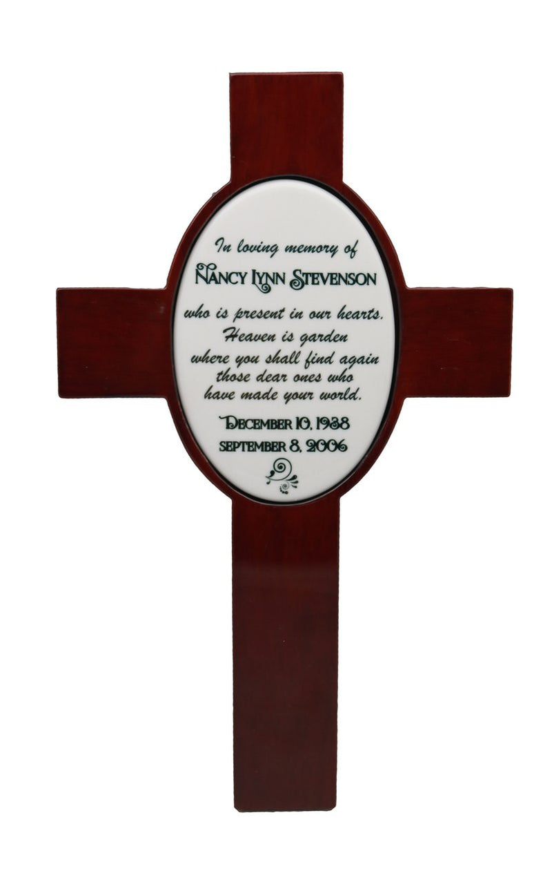 Personalized Loving Memory Cross