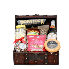 Gluten Free Wine Lovers Jr. Wooden Gift Chest
