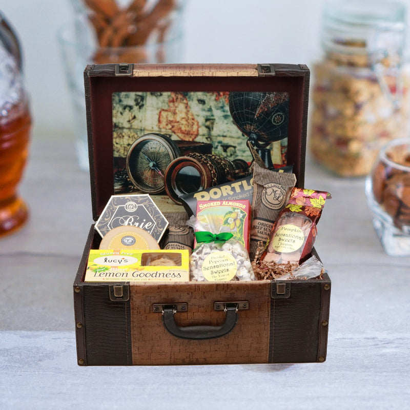 Gluten Free Savory Gourmet Deluxe Suitcase