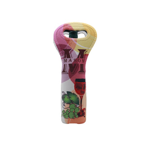 Monogrammed Wine Bottle Carrier