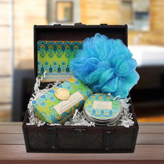 Lemon Verbena Serene Spa Gift Chest