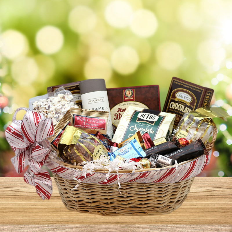 Chocolate Holiday Gift Basket