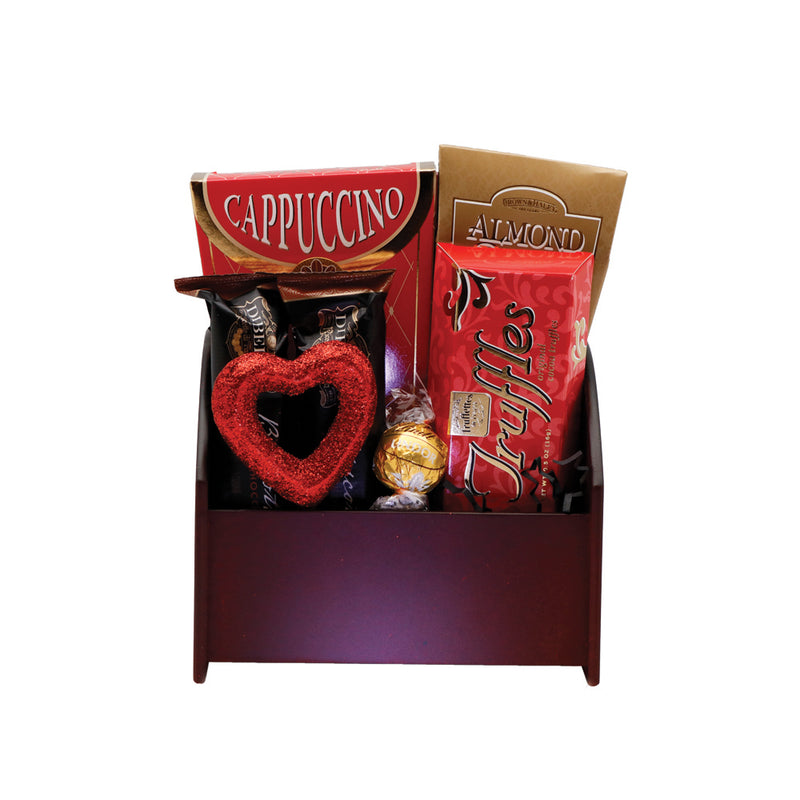 Personalized Love In A Caddy Gift Basket
