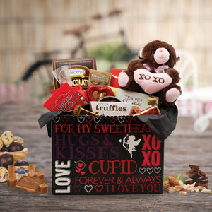 Hugs & Kisses Gift Basket