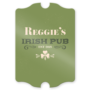 Established Irish Pub Personalized  Sign
