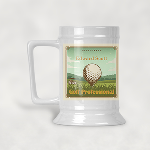 Golfer's Guide Beer Stein