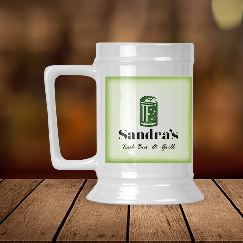 My Irish Bar & Grill Presonalized Beer Stein