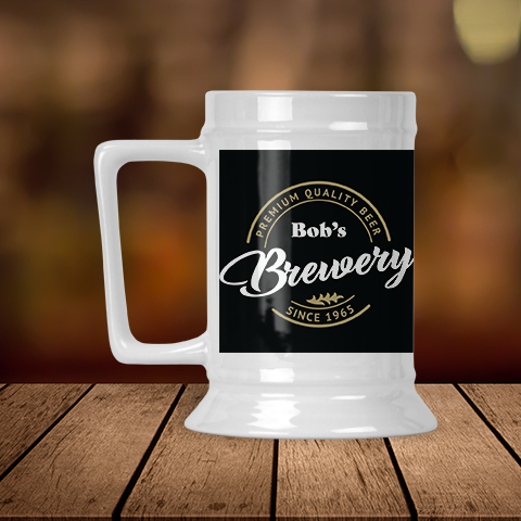 Basement Brewery Personalized Beer Stein