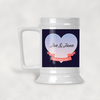 Celebrating Love in the Twilight Personalized Beer Stein