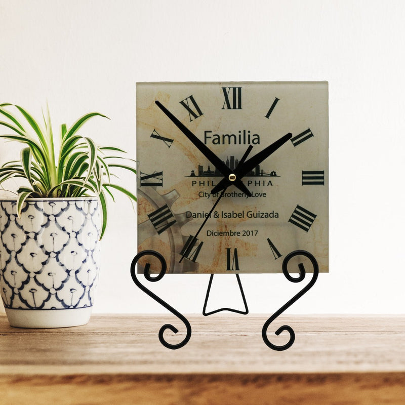 City of Brotherly Love Personalized Wall Clock