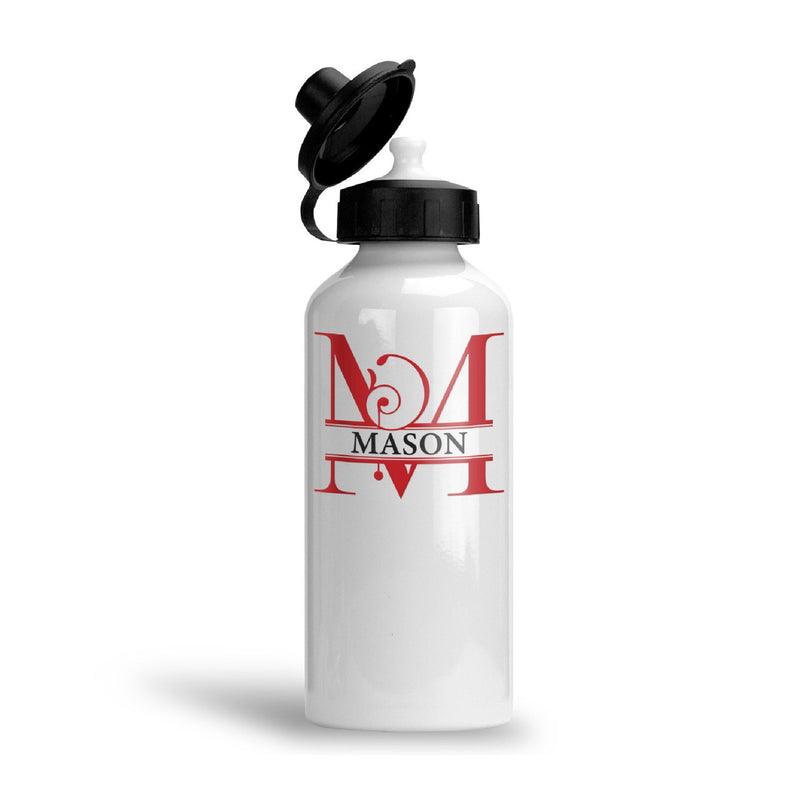 Savvy Custom Gifts Modern Artisan Monogrammed Water Bottle