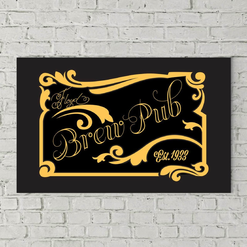 Savvy Custom Gifts Personalized Brew Pub Canvas