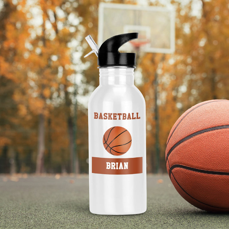 Savvy Custom Gifts Personalized Basketball Fan Water Bottle
