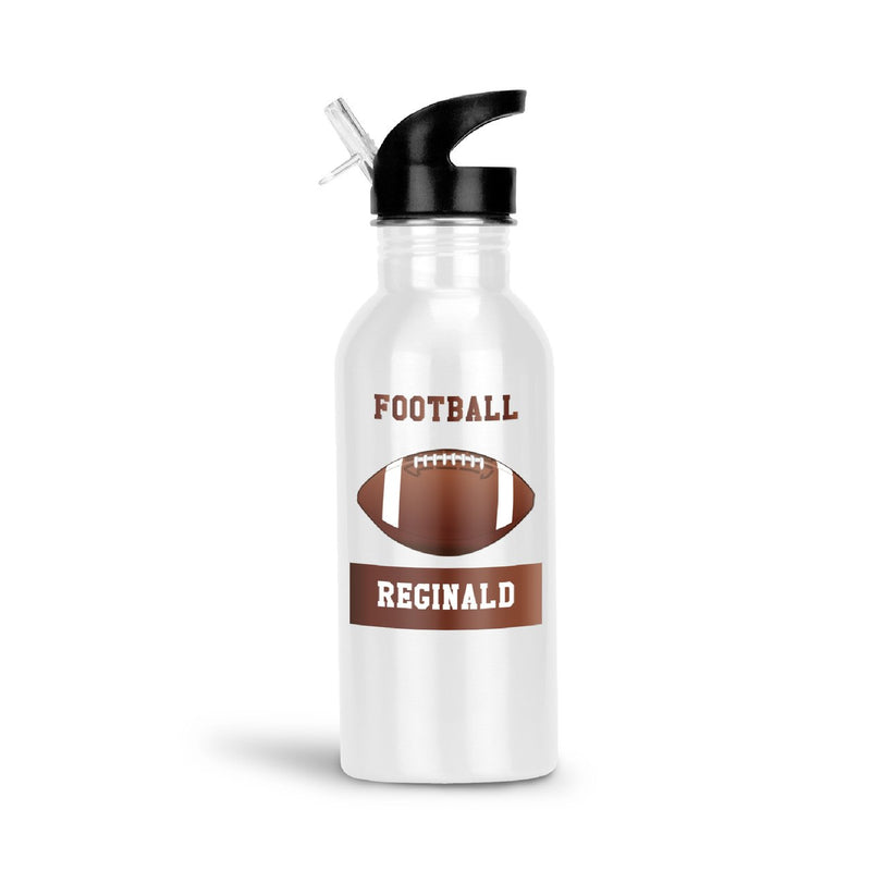 Savvy Custom Gifts Personalized Football Fan Water Bottle