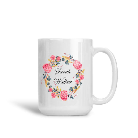 "SavvyGifts ""Mom is Always There"" Personalized 15 oz. Coffee Mug"