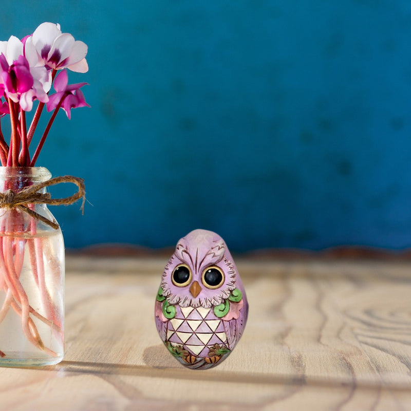 Jim Shore Mini Owl Egg