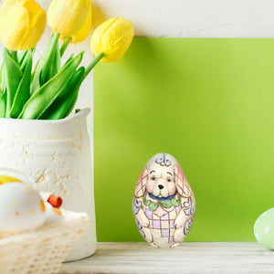 Jim Shore Mini Dog Egg