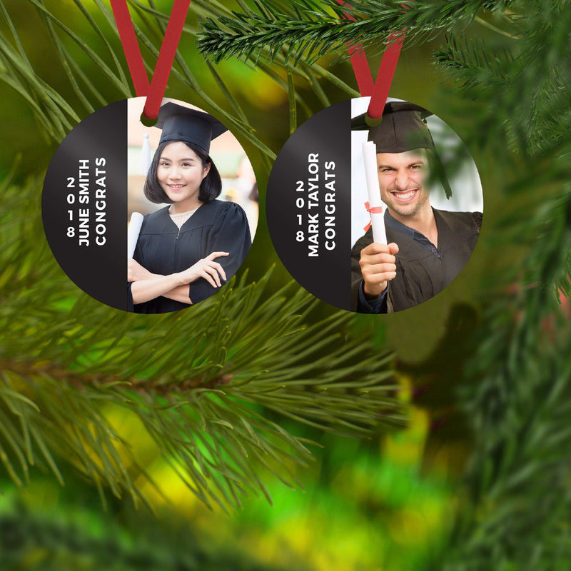 Savvy Custom Gifts Personalized Class Of The Year Graduation Ornament