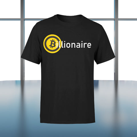 """Jeans and Shovels"" Billionaire Bitcoin T-shirt"