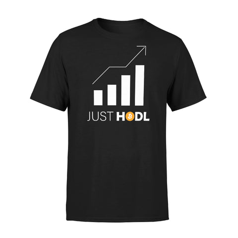 """Jeans and Shovels"" Just Hodl Bitcoin T-shirt"