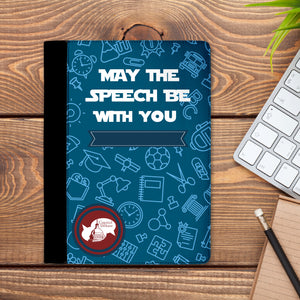 May The Speech Be With You Capitol Debate Padfolio