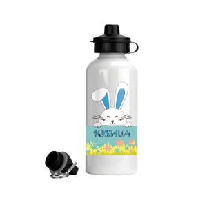 Personalized Bunny Rabbit Aluminum Water Bottle