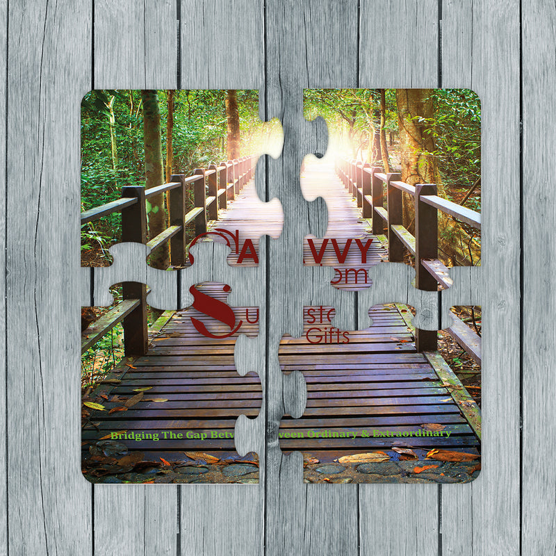 Personalized Photo Gift Puzzle Coaster