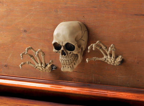 Skeleton Wall Decor Set