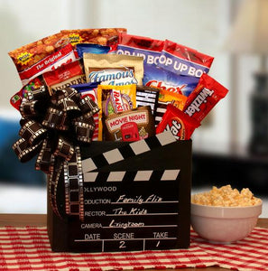 Family Flix Movie Night Gift Box with RedBox Gift Card